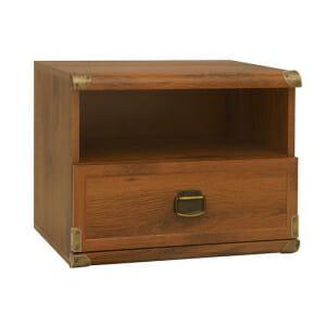 Нощно шкафче със старинен вид Индиана