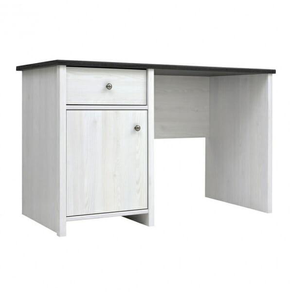 Работно бюро в бял дървесен цвят Порто