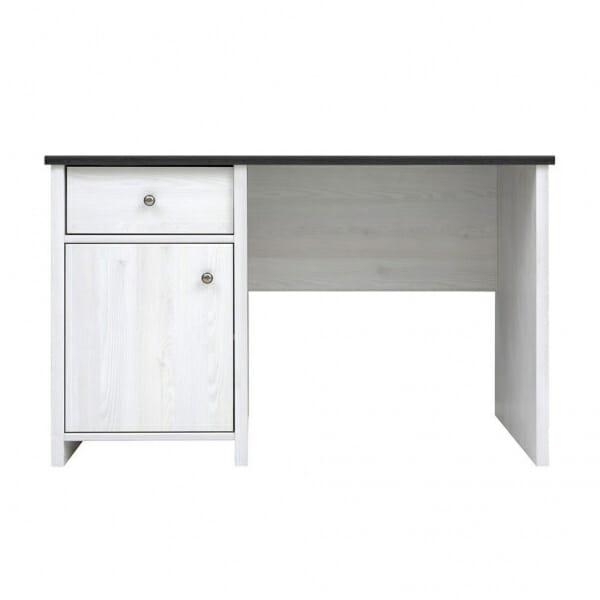 Работно бюро в бял дървесен цвят Порто - отпред