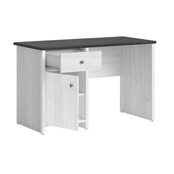 Работно бюро в бял дървесен цвят Порто - разпределение