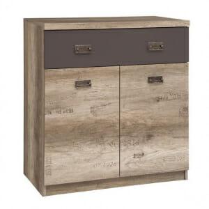 Шкаф с чекмедже и 2 вратички Малкълм
