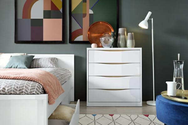 Скрин и легло модулна система Пори - декор
