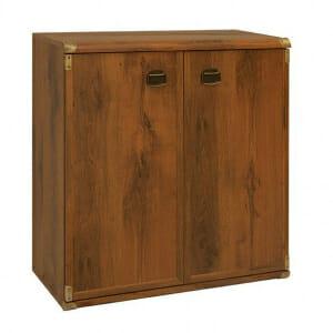 Старинен шкаф с 2 вратички Индиана - дъб сутер