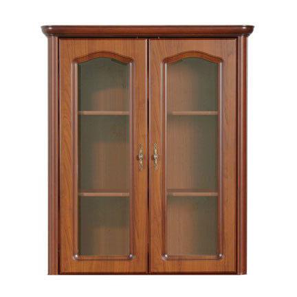 Стенен шкаф с 2 стъклени вратички Наталия