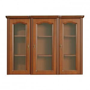 Шкаф с 3 стъклени вратички Наталия