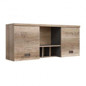 Стенен шкаф със старинна визия Малкълм