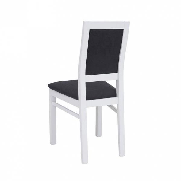 Трапезен стол с рамка от буково дърво Порто - отзад