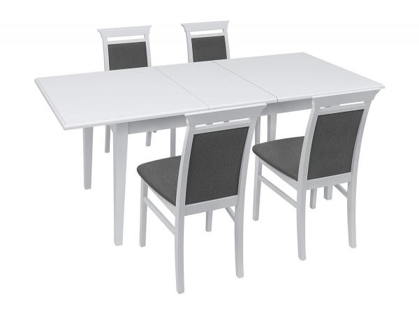 Трапезна маса със столове Иденто - разтегната