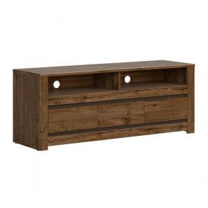 ТВ шкаф в тъмен дървесен цвят Када
