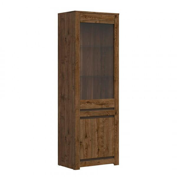 Висок шкаф витрина Када