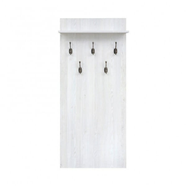 Закачалка за антре в светъл цвят Порто - отпред