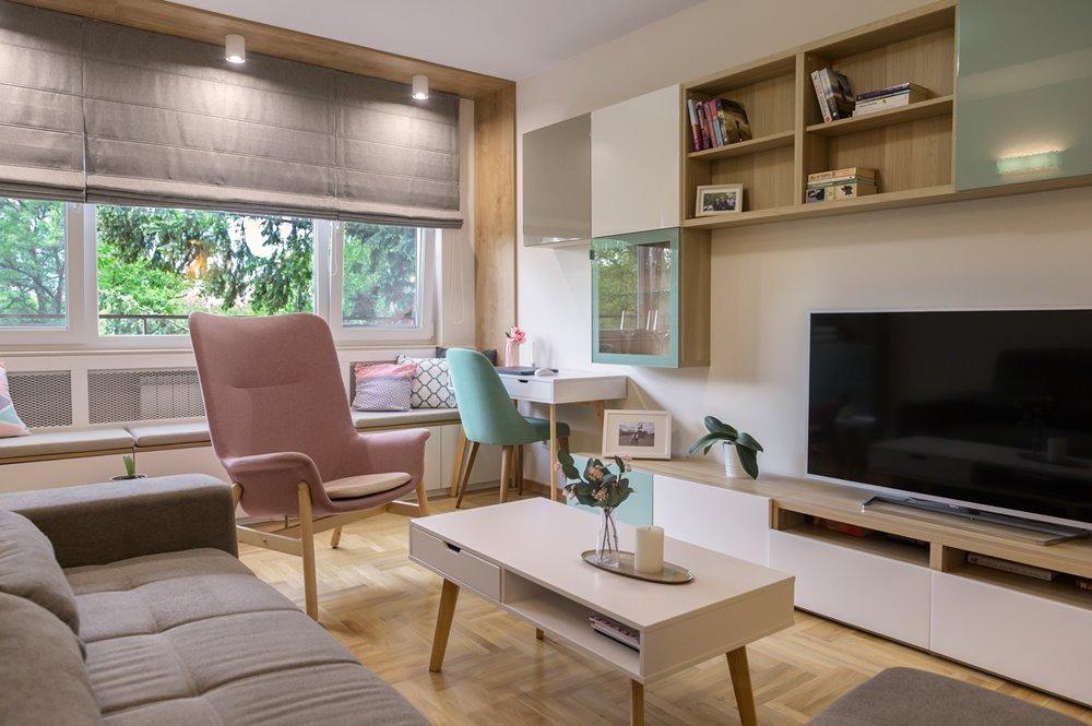 Модерен апартамент в светли цветове