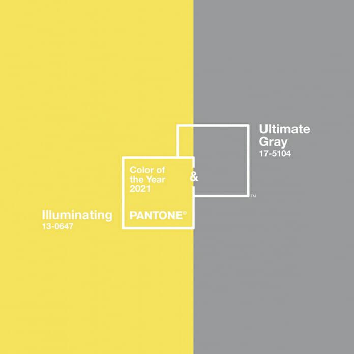Цветът на 2021 - пастелно сиво и ярко жълто