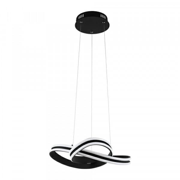 LED пендел в черно и бяло Corredera