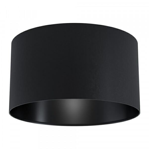 Moдерен черен плафон от текстил Maserlo 1