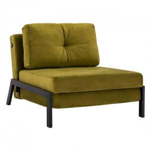 Разтегателно кресло от три части Исса-маслина
