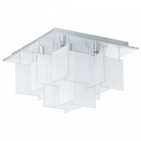 Авангарден LED плафон oт стъкло Conrada 1 - размер 1