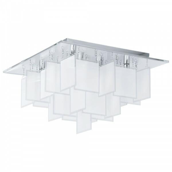 Авангарден LED плафон oт стъкло Conrada 1 - размер 2