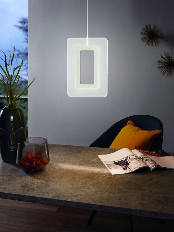 LED пендел с 1 рамкирано тяло Еnaluri - декор
