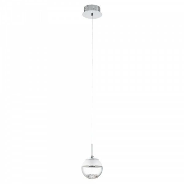 LED пендел с 1 топка с кристали Montefio 1