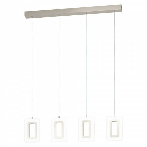 LED пендел с 4 рамкирани тела Еnaluri