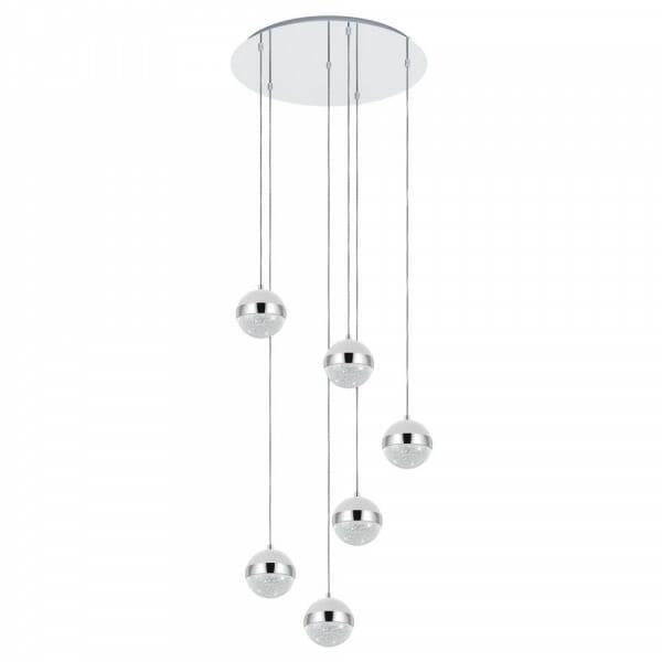 LED пендел с 6 бляскави топки Licoroto