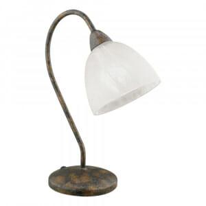 Настолна лампа със състарена визия Dionis