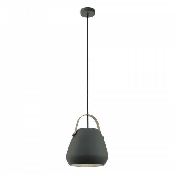 Пендел от стомана с декоративна дръжка Bednall в черен цвят