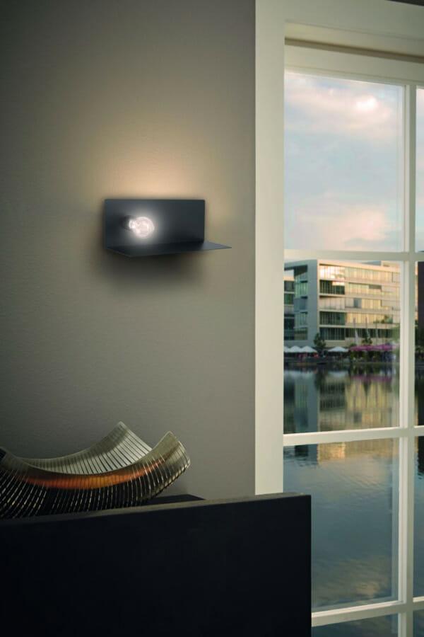 Аплик с USB порт и поставка за зареждане на телефон Ciglie - декор
