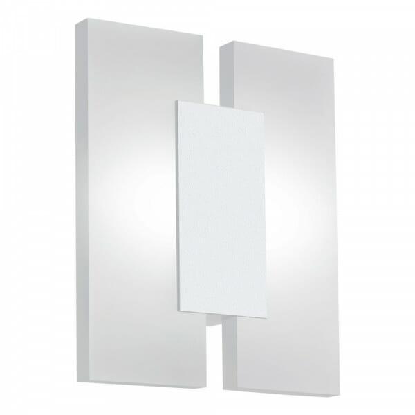 Елегантен LED аплик от 3 части Metrass 2 в бял цвят