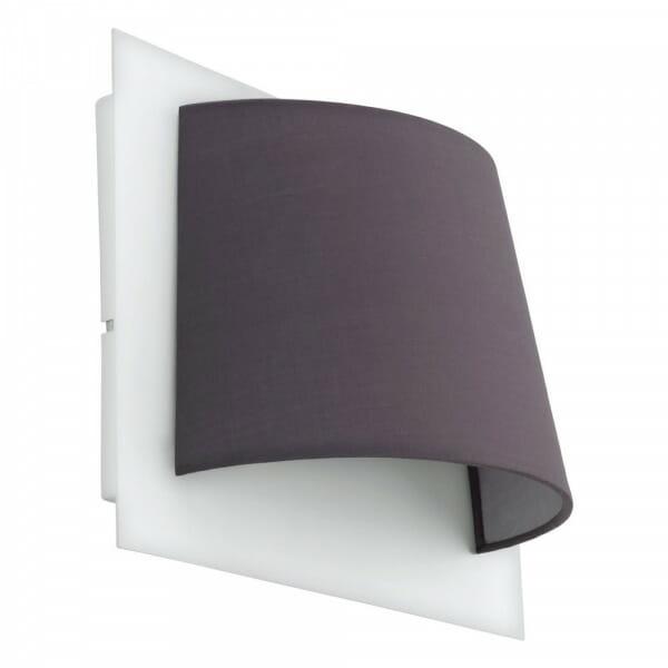 LED аплик oт метал и текстил Serravalle с 1 тяло