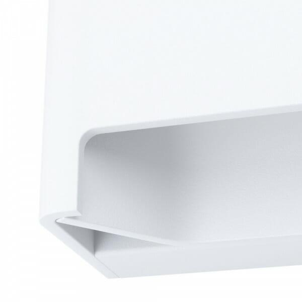 LED аплик с оригинална форма Feloniche в бял цвят - детайл