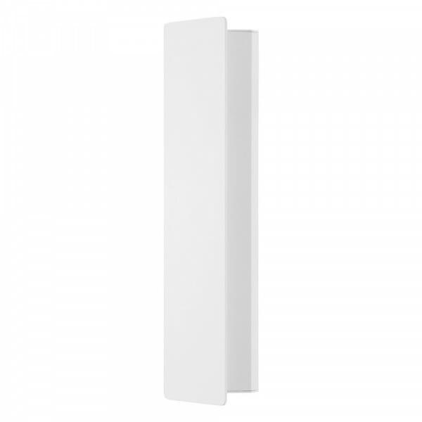 Метален LED аплик с изискана визия Zubialde в бял цвят