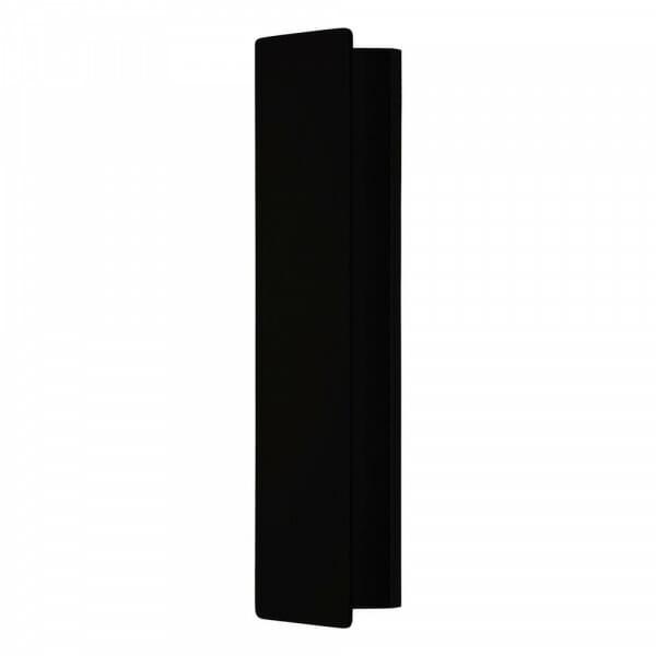 Метален LED аплик с изискана визия Zubialde в черен цвят