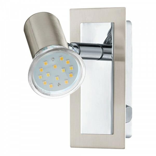 Метален LED спот/аплик с правоъгълна основа Rottelo