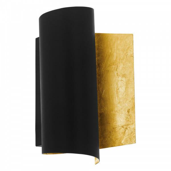 Модерен аплик в черно и златисто Falicetto