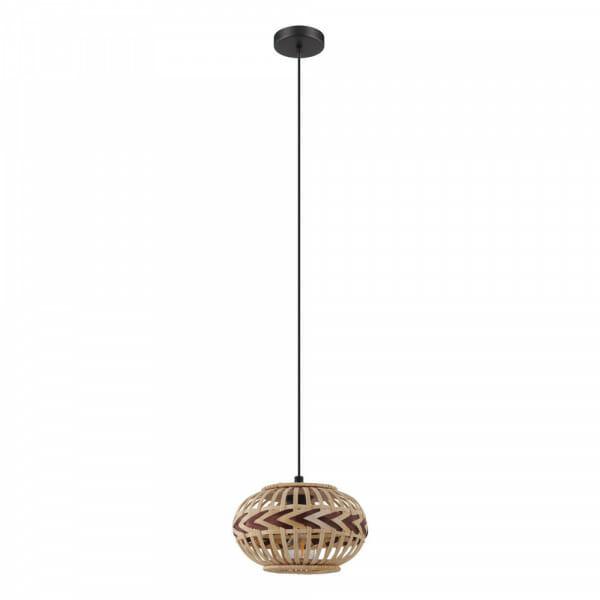 Пендел с декоративен дървен абажур Dondarrion - размер 1