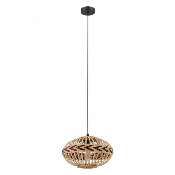 Пендел с декоративен дървен абажур Dondarrion - размер 2