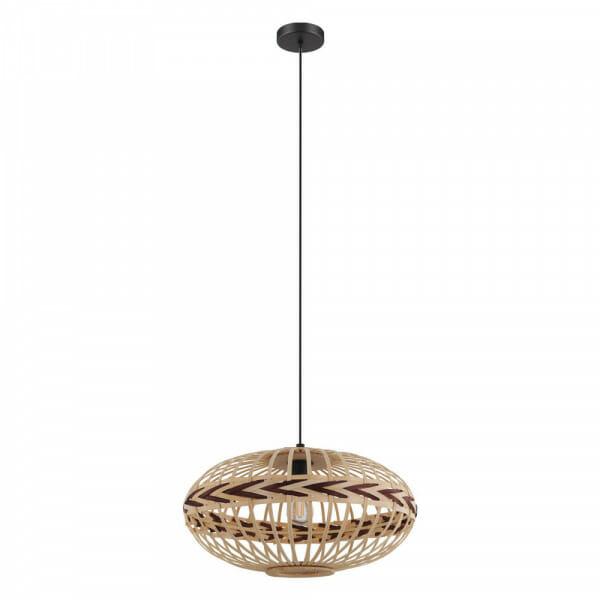 Пендел с декоративен дървен абажур Dondarrion - размер 3