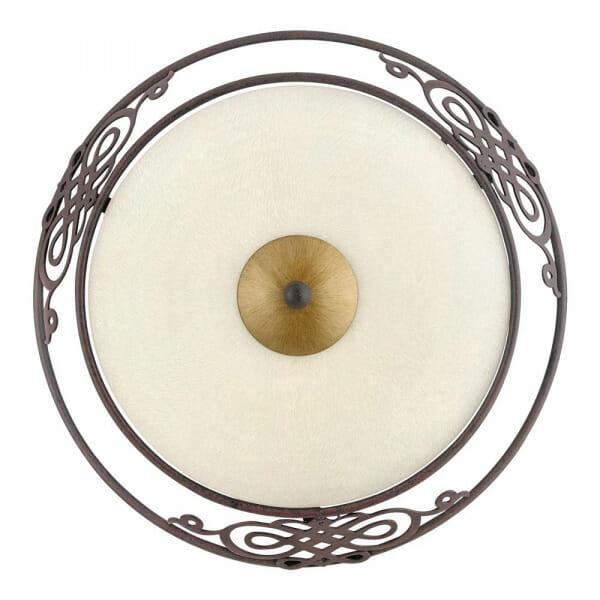 Стъклен плафон с класическа визия Mestre - размер 1