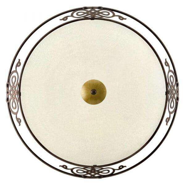 Стъклен плафон с класическа визия Mestre - размер 3