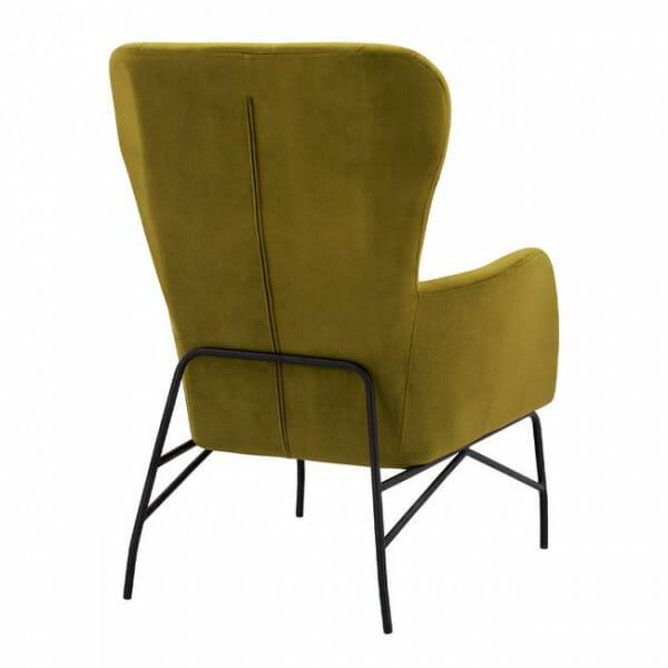 Зелено кресло - гръб